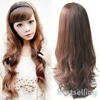 Women's Curly Wavy Half-head  Fashion Hair band Hair Extension Sexy Stylish