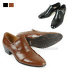 New Formal Men Leather Luxury Dress Shoes Oxfords Slip On black brown Fashion