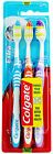 3 Pack Colgate Extra Clean Toothbrushes Medium