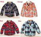 New Kids Boys ZARA 4 Colours Long Sleeves Clothes Top T Shirt Size 2,3,4,5,6,7Y
