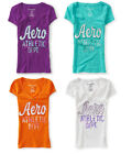 Aeropostale T-Shirt Womens Junior Sizes XS, S, M, L, XL, 2XL NWT Embroidered NEW