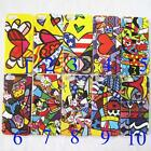 1 x Abstract Heart Character Hard Back Case Skin for iPhone 5 5G 10 models