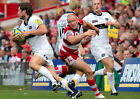 GLOUCESTER RUGBY UNION MIKE TINDALL 01 PHOTO PRINT