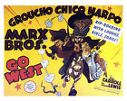 GO WEST 01 (MARX BROTHERS) FILM P0STER PRINT