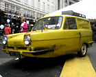 TROTTERS INDIPENDENT TRADING CO ROBIN RELIANT VAN 01 PHOTO PRINT