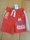 MARKS AND SPENCER RED AMERICAN BASEBALL JERSEY SHORTS 12 18 4 5 6 SPORTY NEW
