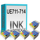 20 ( 5 FULL SETS ) UCI BRAND INK CARTRIDGES REPLACE FOR STYLUS PRINTER