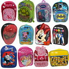 Official Licensed Character Junior Backpack Rucksack School Bag Boys Girls Gift