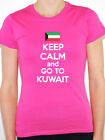 KEEP CALM AND GO TO KUWAIT - Arab / Western Asia /Novelty Themed Women's T-Shirt