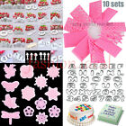 25 Models Icing Decorating Cookie Cutters Sugarcraft Cake Tool Baking Gum Paste