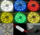 12V Car LED Strip Light 3528 Waterproof SMD 300 LEDS 5M power supply Dimmer UK