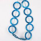 1/6strings Colors Fashion Round Circles Loose Faux Shell Speace Loose Beads 39cm