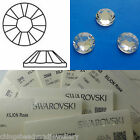Swarovski 2058 Non Hotfix Platinum Foiled Flat Back Crystal All Sizes 1.3-11.3mm