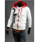 NEW Mens Printed Slim Fit Sexy Top Designed 2 color Hoodies Jackets Coats