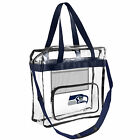 NFL 2013 Clear High End Messenger Bag Tote - See Through for Football Stadium