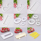 Round Edge Icing Cake Decorating Cookie Cutter Gum Paste Sugarcraft Mold Tools