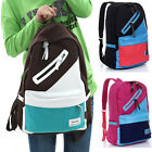 Girls Women's Hot Satchel School Bag Canvas Backpack Rucksack Tote Shoulders Bag