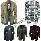 Womens Knitted Aztec Cardigan Ladies Skull Print Jupmers Full Long Sleeve 8-14