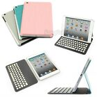 Ultra-thin Wireless Bluetooth Keyboard Detachable Leather Case For iPad Mini