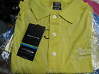 NEW Page & Tuttle Mens Golf Shirt Moisture Wick Striped AntiBacterial COOL SWING