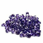 Round Cut~AA Grade Simulated 2MM Lot ~Purple Amethyst ~Cubic Zirconia~Excellent