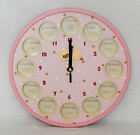 RUSS BABY - DIDDY DUCK - 1ST YEAR PHOTO FRAME CLOCK - NEW BABY CHRISTENING GIFT