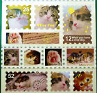 Cute Taiwan Diary DIY Animal Sparkle Stamp Stickers- Kitty Cats