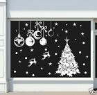 CHRISTMAS DECORATION STICKER / Shop Window Xmas Sign / HUGE SIZE N86