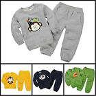 Cute Kids Sports Wear Baby Clothing Outfit Boys Sports Suit Clothes 1-5Y
