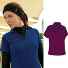 2014 Glenmuir Ladies Gloria Zip Neck Hi-Cool Performance Golf Polo Shirt