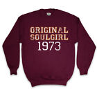 ORIGINAL SOULGIRL 1973 SWEATER NORTHERN SOUL DANCER JUMPER TOP WOMENS GIRLS SIZE