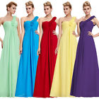 Red Flower Ladies Party Evening Gowns Formal Bridesmaid Wedding Festival Dresses