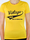 VINTAGE 1956 AGED TO PERFECTION -Birth Year/Birthday Gift Themed Women's T-Shirt