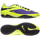 Nike Hyper Venom TF Phelon TURF 2013 HI-VIS Soccer SHOES Brand New Volt / Purple