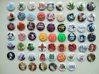 SUPER BADGE SELECTION  Badge Button pins  - FUNNY COOL CLASSIC! 25mm size