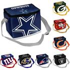 NFL Football Team Big Logo Zipper Lunch Bag - 6 Pack Cooler - Pick your team! on eBay