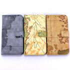 New Fashion Flip Leather For Samsung Galaxy SIV S4 i9500 Stand Wallet Case Cover