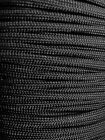 Kyпить Black 550 Paracord Mil Spec Type III 7 strand parachute cord 10 25 50 100 ft на еВаy.соm