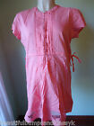 MAMAS & PAPAS CORAL EMBROIDERED MATERNITY TUNIC TOP SIZE 6 8 10 12 NEW £ 42