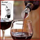 1-12x White Red Wine AIr Aerator Pour Spout Stopper Decanter Pourer Aerating