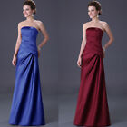 2015 Sexy Vintage Long Bridal Bridesmaid Evening Cocktail Gowns Prom Ball Dress