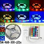 3528 RGB Waterproof SMD 5M 60Leds/M Flexible LED Strip Christmas Light 12V New