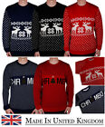Unisex Christmas Jumper Mens Ladies Chrimbo Xmas Knit Sweat Knitwear Holiday