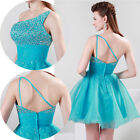 2015 New Beaded Mini Party Short Dress Homecoming Bridesmaid Cocktail Prom Gowns