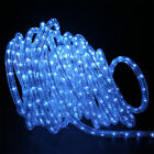 50'ft  LED Rope Light Flexible Home Outdoor Christmas Lighting-RED-YEL-GRN-BL-WH