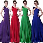 Charm Long Evening Formal Party Ball Gown Prom Cocktail Bridesmaid Chiffon Dress