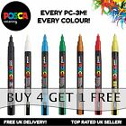 UNI POSCA PC-3M MARKER PENS- BUY 3 GET ANOTHER ONE FREE