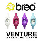 Breo Venture Unisex Analogue Watch - in White, Purple, Rubine Red and Blue