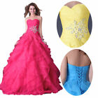 Beach Wedding Party Long Ball Gown Dress Womens Cocktail Prom Evening Size 6~20