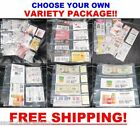 ( 65 ) EXTREME COUPON SLEEVES Binder Holder Organizer PAGES SET - MAKE YOUR OWN!